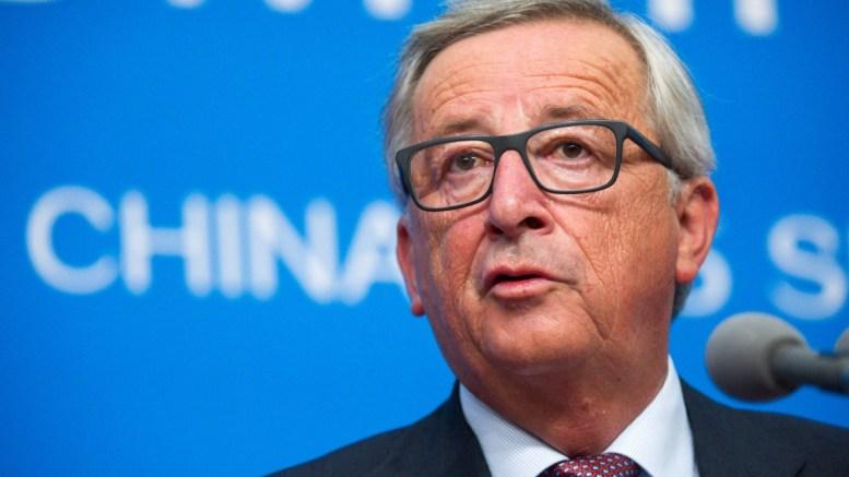 EU Commission President Jean-Claude Juncker. EPA/BERND VON JUTRCZENKA