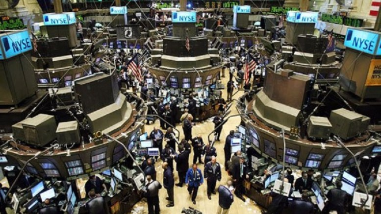 Tο Χρηματιστήριο της Νέας Υόρκης. Φωτογραφία EPA, ΑΠΕ-ΜΠΕ