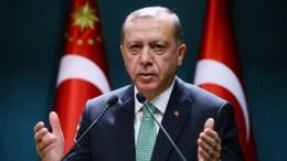Ο Πρόεδρος της Τουρκίας Ταγίπ Ερντογάν. Φωτογραφία ΤΟΥΡΚΙΚΗ ΠΡΟΕΔΡΙΑ