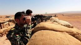 FILR PHOTO. Iraqi Kurdish Peshmerga fighters. EPA, AHMED JALIL