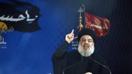 Hezbollah leader Hassan Nasrallah. EPA/WAEL HAMZEH