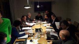Ο Πρόεδρος της Κυπριακής Δημοκρατίας Νίκος Αναστασιάδης με τους συνεργάτες του. Φωτογραφία ΓΡΑΦΕΙΟ ΚΥΒΕΡΝΗΤΙΚΟΥ ΕΚΠΡΟΣΩΠΟΥ