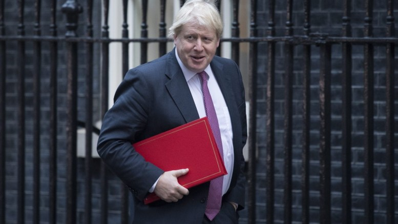 File Photo: British Secretary of State for Foreign and Commonwealth Affairs Boris Johnson arrives for a cabinet meeting at Downing Street in London, Britain. EPA, WILL OLIVER