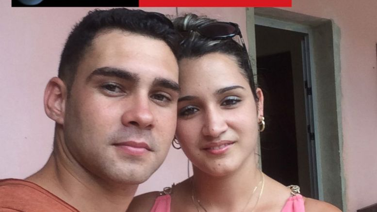 Elian Gonzalez poses for a selfie with his fiance Ilianet Escano. Obtained by ABC News