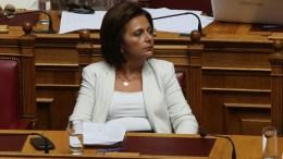 Η πρώην υφυπουργός Υποδομών, Μεταφορών και Δικτύων Μαρίνα Χρυσοβελώνη. ΑΠΕ-ΜΠΕ, ΑΛΕΞΑΝΔΡΟΣ ΒΛΑΧΟΣ