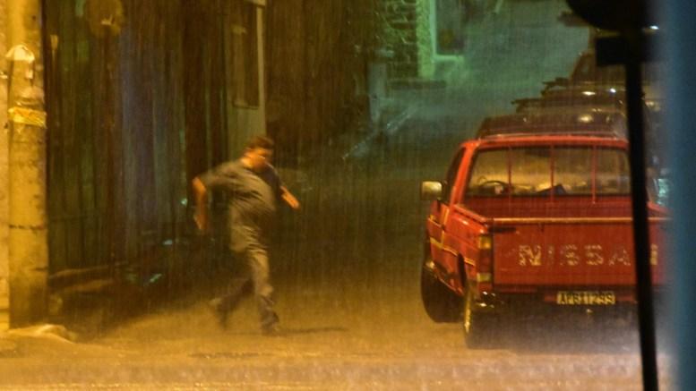 Διακοπή της κυκλοφορίας, λόγω βροχόπτωσης, σε σημεία του οδικού δικτύου της Δράμας και της Ροδόπης. ΦΩΤΟΓΡΑΦΙΑ ΑΡΧΕΙΟΥ. ΑΠΕ-ΜΠΕ/ΜΠΟΥΓΙΩΤΗΣ ΕΥΑΓΓΕΛΟΣ