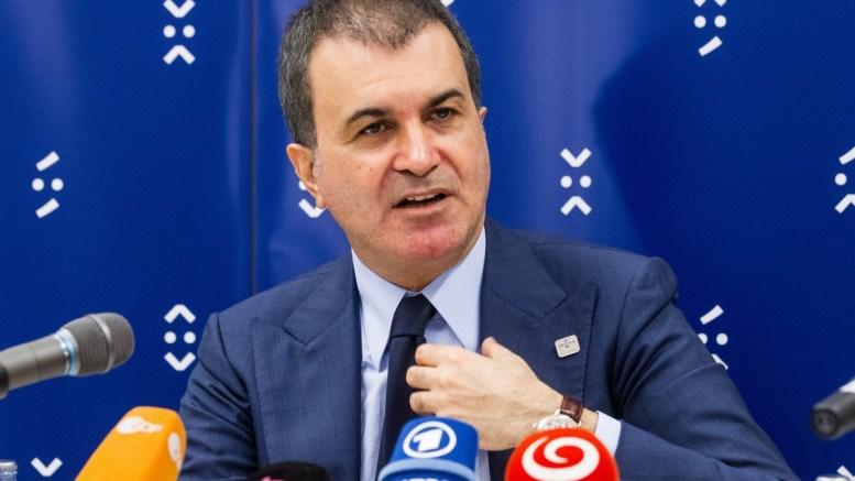Turkey's Minister for EU Affairs Omer Celik. FILE PHOTO. EPA/JAKUB GAVLAK