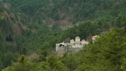 Ιερά Μονή Αγίου Διονυσίου εν Ολύμπω, Φωτογραφία ΑΠΕ-ΜΠΕ