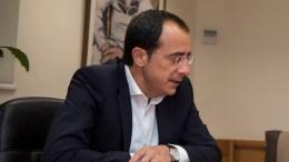O κυβερνητικός εκπρόσωπος, της κυπριακής κυβέρνησης Νίκος Χριστοδουλίδης. ΑΠΕ-ΜΠΕ/Andrea Bonetti