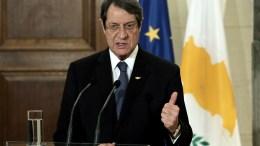 Ο Πρόεδρος της Κυπριακής Δημοκρατίας Νίκος Αναστασιάδης. Φωτογραφία ΑΠΕ-ΜΠΕ