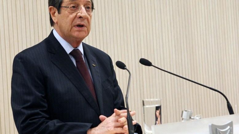 Ο Πρόεδρος της Κυπριακής Δημοκρατίας κ. Νίκος Αναστασιάδης. Φωτογραφία ΧΡ. ΑΒΡΑΑΜΙΔΗΣ