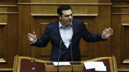 Ο πρωθυπουργός Αλέξης Τσίπρας μιλάει στην Ολομέλεια του Κοινοβουλίου στη συζήτηση για τον προϋπολογισμό του κράτους για το οικονομικό έτος 2017, Αθήνα Σάββατο 10 Δεκεμβρίου 2016 ΑΠΕ-ΜΠΕ, ΓΙΑΝΝΗΣ ΚΟΛΕΣΙΔΗΣ