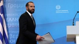 Ο Υπουργός Επικρατείας και Κυβερνητικός Εκπρόσωπος, Δημήτρης Τζανακόπουλος. ΑΠΕ-ΜΠΕ, ΟΡΕΣΤΗΣ ΠΑΝΑΓΙΩΤΟΥ