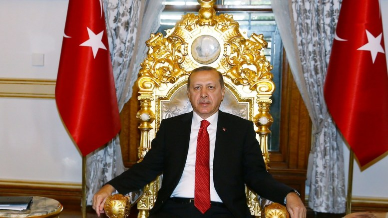 A handout picture shows, Turkish President Recep Tayyip Erdogan. EPA/TURKISH PRESIDENT PRESS OFFICE/HANDOUT HANDOUT EDITORIAL USE ONLY/NO SALES