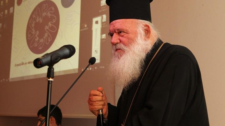 ΦΩΤΟΓΡΑΦΙΑ ΑΡΧΕΙΟΥ:Ο Αρχιεπίσκοπος Ιερώνυμος. ΑΠΕ ΜΠΕ/ΠΑΝΤΕΛΗΣ ΣΑΪΤΑΣ