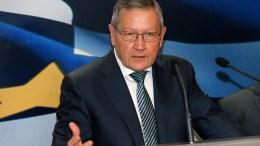 O επικεφαλής του ESM Κλάους Ρέγκλινγκ. EPA, PANTELIS SAITAS