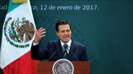 Ο πρόεδρος του Μεξικού Πένια Νιέτο. EPA/José Méndez