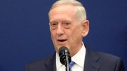 Secretary of Defense James Mattis. EPA/Olivier Douliery / POOL