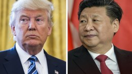 A combo picture  shows (L) US President Donald J. Trump and (R) Chinese President Xi Jinping. EPA, JIM LO SCALZO, FILIP SINGER