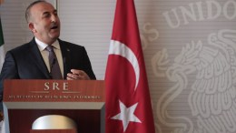 File Photo: Minister of Foreign Affairs of Turkey Mevlut Cavusoglu. EPA, Sashenka Gutierrez