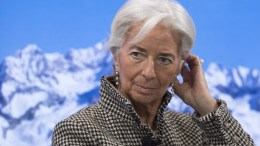 Christine Lagarde, Managing Director International Monetary Fund IMF, listens during a panel event at the 47th Annual Meeting of the World Economic Forum (WEF) in Davos, Switzerland. EPA, GIAN EHRENZELLER