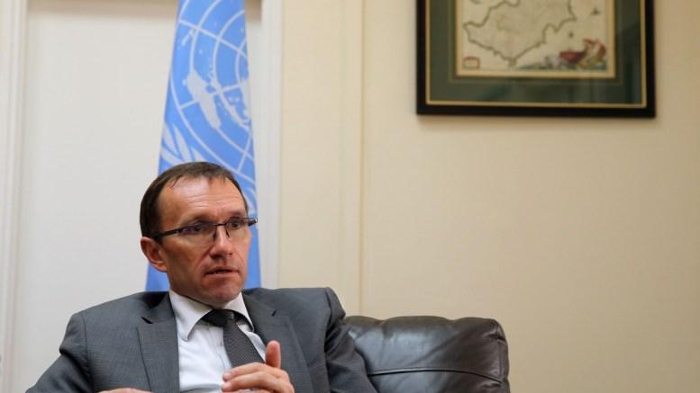 Ο Ειδικός Σύμβουλος του Γ.Γ του ΟΗΕ για την Κύπρο κ. Έσπεν Μπαρθ 'Ειντε.. ΚΥΠΕ, ΚΑΤΙΑ ΧΡΙΣΤΟΔΟΥΛΟΥ