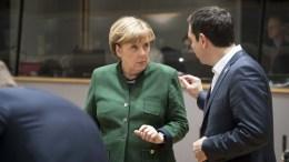 File Photo: Ο πρωθυπουργός Αλέξης Τσίπρας με την γερμανίδα καγκελάριο Άγγελα Μέρκελ κατά την διάρκεια της Συνόδου Κορυφής της Ευρωπαϊκής Ένωσης, στις Βρυξέλλες, Παρασκευή 10 Μαρτίου 2017. ΑΠΕ-ΜΠΕ, ΓΡΑΦΕΙΟ ΤΥΠΟΥ ΠΡΩΘΥΠΟΥΡΓΟΥ, Andrea Bonetti