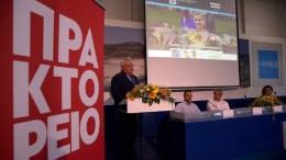 Ο πρόεδρος και γενικός διευθυντής του ΑΠΕ-ΜΠΕ Μιχάλης Ψύλος μιλάει κατά τη διάρκεια της παρουσίασης του νέου site του ΑΠΕ-ΜΠΕ για τον Τουρισμό. ΑΠΕ-ΜΠΕ, ΑΠΕ-ΜΠΕ, ΟΡΕΣΤΗΣ ΠΑΝΑΓΙΩΤΟΥ