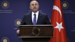 Turkish Foreign Minister Mevlut Cavusoglu. EPA, TUMAY BERKIN