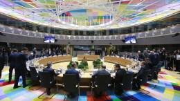 Παρατείνονται οι κυρώσεις ΕΕ κατά όλων όσοι υπονομεύουν την εδαφική ακεραιότητα της Ουκρανίας. EPA/OLIVIER HOSLET