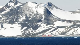 A picture showing a general view of the Fildes Bay in King George Island, in the South Shetland Islands, Antarctica. EPA/FELIPE TRUEBA