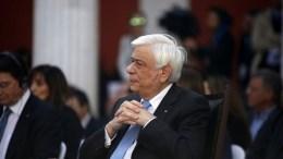 Ο Πρόεδρος της Ελληνικής Δημοκρατίας Προκόπης Παυλόπουλος. Φωτογραφία ΑΠΕ-ΜΠΕ