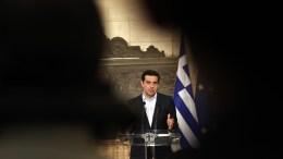 Ο πρωθυπουργός Αλέξης Τσίπρας, στο Μέγαρο Μαξίμου. Φωτογραφία Αρχείου. ΑΛΕΞΑΝΔΡΟΣ ΒΛΑΧΟΣ