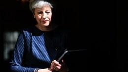 British Prime Minister Theresa May. EPA, ANDY RAIN