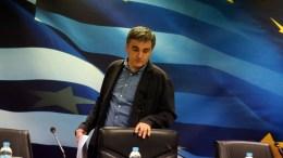 Ο υπουργός Οικονομικών Ευκλείδης Τσακαλώτος . ΑΠΕ-ΜΠΕ, Αλέξανδρος Μπελτές