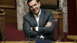 Ο πρωθυπουργός Αλέξης Τσίπρας στη Βουλή. ΑΠΕ-ΜΠΕ, ΣΥΜΕΛΑ ΠΑΝΤΖΑΡΤΖΗ