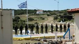 Φωτογραφία αρχείου όπου εικονίζεται ελληνικό φυλάκιο στο ακριτικό Αγαθονήσι. ΑΠΕ-ΜΠΕ/ΓΕΕΘΑ/STR
