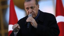 Turkish President Recep Tayyip Erdogan. EPA/TUMAY BERKIN