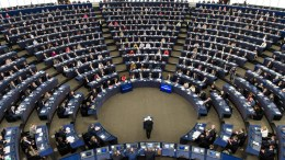 The European Parliament in Strasbourg. FILE PHOTO. EPA, PATRICK SEEGER