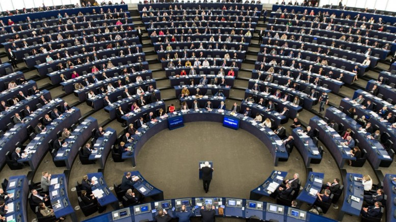 The European Parliament in Strasbourg. FILE PHOTO. EPA, PATRICK SEEGER