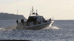 Σκάφος του Λιμενικού. ΑΠΕ-ΜΠΕ/ΑΠΕ-ΜΠΕ/ΡΑΠΑΝΗΣ ΣΤΕΦΑΝΟΣ