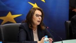 H υφυπουργός Οικονομικών, Κατερίνα Παπανάτσιου. ΑΠΕ-ΜΠΕ/ΑΠΕ-ΜΠΕ/Αλέξανδρος Μπελτές