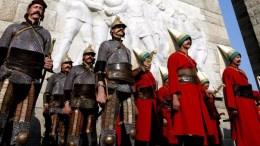 Άγαλμα του Μωάμεθ του Πορθητή θα στήσει ο δήμαρχος Κωνσταντινούπολης στην μέση του Κεράτιου. EPA, TOLGA BOZOGLU