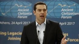 Ο πρωθυπουργός Αλέξης Τσίπρας, στο Ζάππειο Μέγαρο. ΑΠΕ-ΜΠΕ, ΓΙΑΝΝΗΣ ΚΟΛΕΣΙΔΗΣ