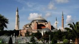 Hagia Sophia in Istanbul, Turkey. EPA, TOLGA BOZOGLU