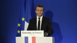 French presidential election candidate for the En Marche ! EPA, LIONEL BONAVENTURE / POOL