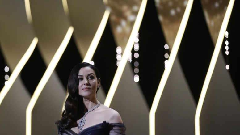 Mistress of ceremony Monica Bellucci attends the Opening Ceremony of the 70th annual Cannes Film Festival, in Cannes, France, 17 May 2017. The festival runs from 17 to 28 May. EPA, GUILLAUME HORCAJUELO
