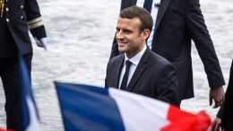 French President Emmanuel Macron.  EPA/CHRISTOPHE PETIT TESSON