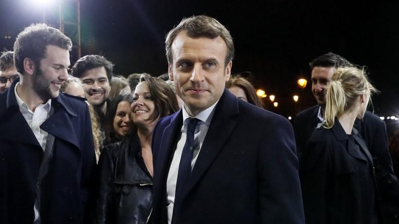 French president Emmanuel Macron. EPA/THOMAS SAMSON / POOL MAXPPP OUT