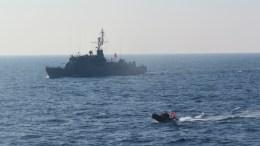 H νέα τουρκική πρόκληση στο Αγαθονήσι αποτελεί ποιοτική κλιμάκωση της τουρκικής απειλής. Φωτογραφία Turkish navy.